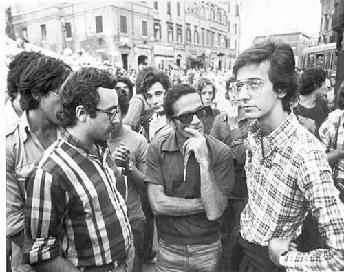 Veltroni ed Adornato con Pasolini quando (non) erano comunisti!
