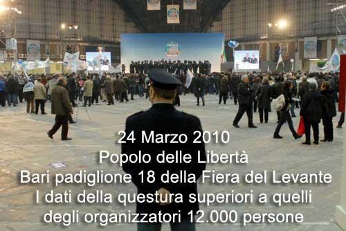 12.000 persone a Bari per il PdL - cerca Wally